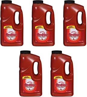 product image for Franks RedHot Original Hot Sauce, 64 oz (Pack of 5)