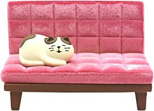 Bolley Joss Desk Cell Phone Holder Stand Pink Sofa with Cute Cat Kitty for Office Free You Hands Home Ornament