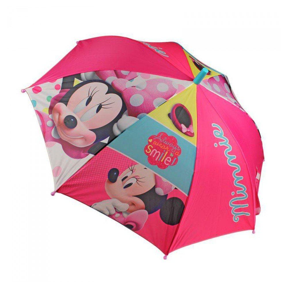 Paraguas automatico calidad premium 48 cm de Minnie: Amazon.es: Juguetes y juegos
