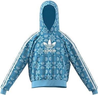 usuario frío Citar  Sudadera-Adidas-Niña-DV2363-Azul: Amazon.es: Ropa y accesorios
