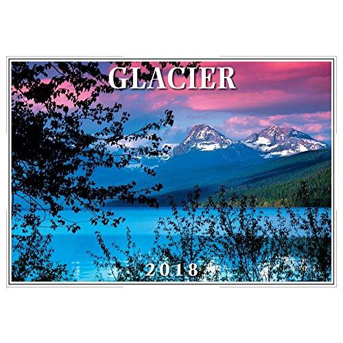 2018 Glacier Wall Calendar hot sale