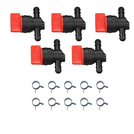 milttor 5 paquetes 698183 combustible apagado válvula 1/4