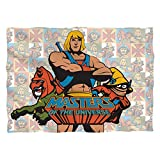 Masters Of The Universe Sci-Fi Movie Comic Series Heroes Front Print Pillow Case
