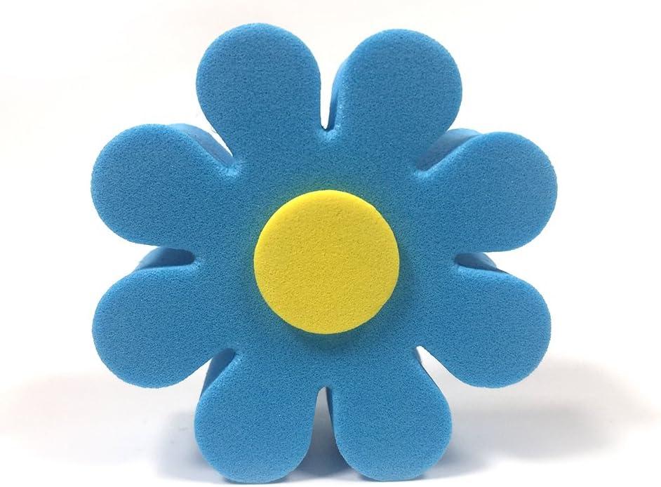 ygmoner Car Antenna Topper Colorful Foam Flowers Antenna Ball Blue