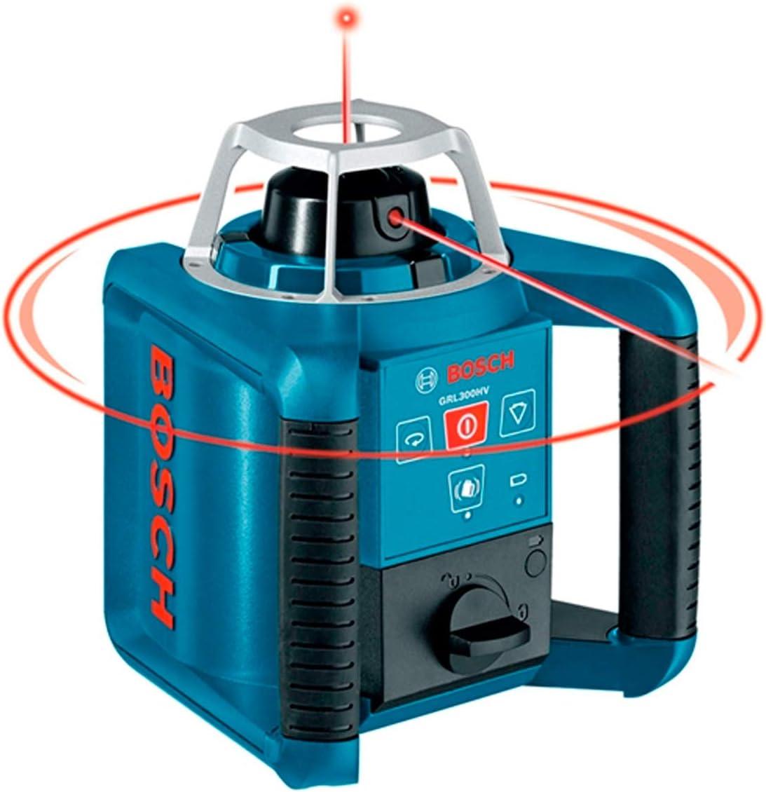 Bosch Professional GRL 300 HV SET: Laser rotatif GRL 300 HV coffret support lunette telecommande