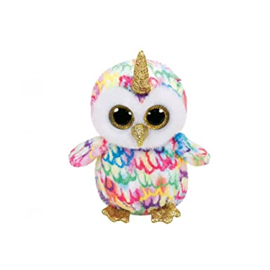 TY BEANIE BOOS 15cm ENCHANTED owl unicorn gift idea peluche toy puppet VX328