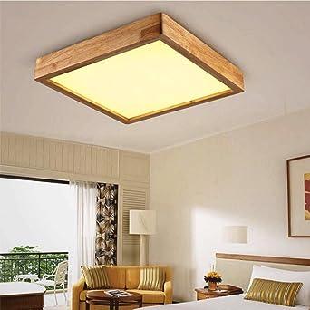 JINER-24W LED kreative Persönlichkeit von massivem Holz Decke Lampe ...