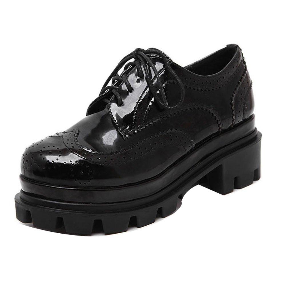 LadolaDgug00380 - zapatos con cordones Mujer 35 EU negro