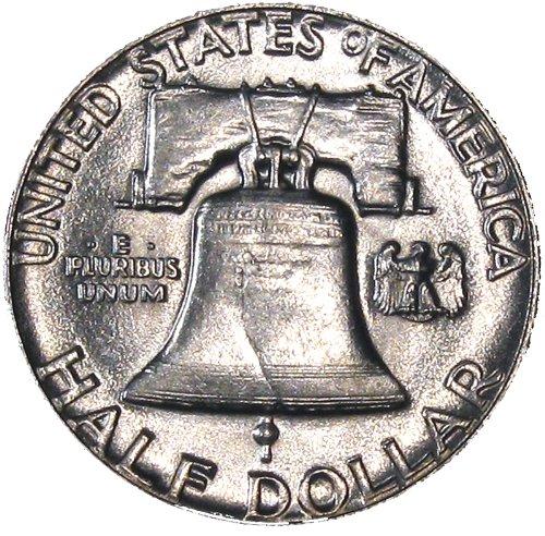 1954 Franklin Half Silver Dollar ()