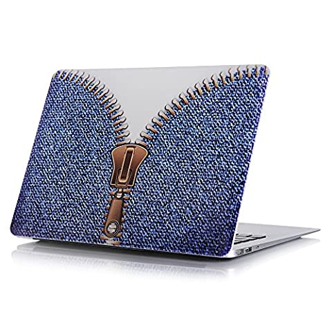 Happy Hours - Denim Pattern Body Cover for MacBook Pro 13.3