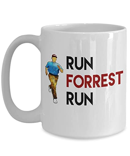 forrest gump mug running mug run forrest run coffee mugs funny novelty office work gift best