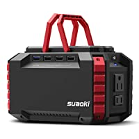 Suaoki Portable Power Station 150Wh/100W Generator S270