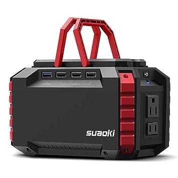 Amazon.com: SUAOKI Estación de alimentación portátil 150 Wh ...