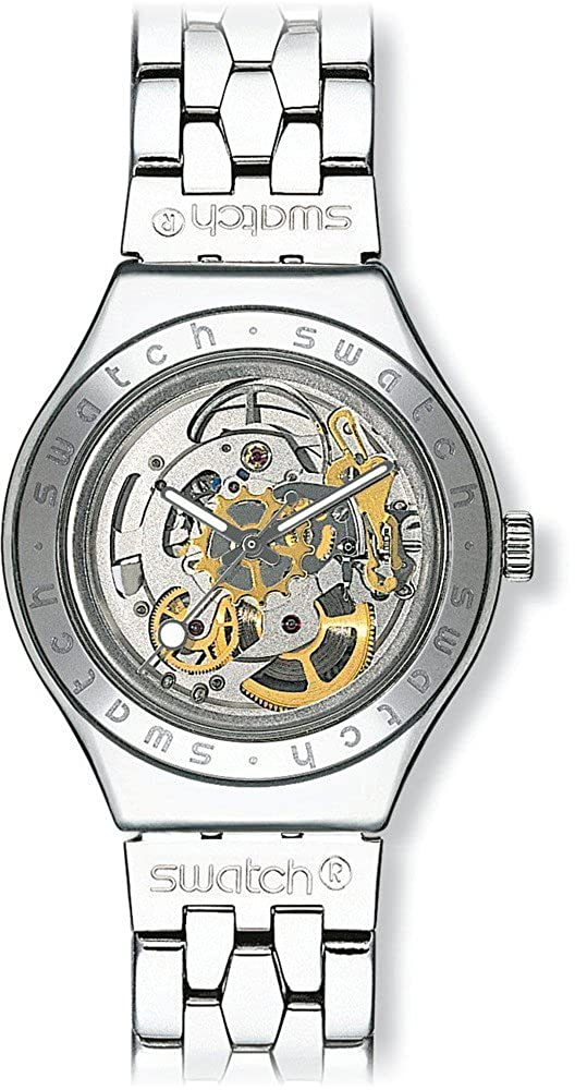 8a423e50005 Amazon.com  Swatch Men s YAS100G Automatic See Through Dial Crystal Watch   Swatch  Watches