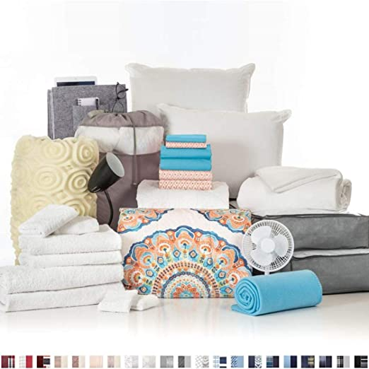 College Room Essentials 27-Piece