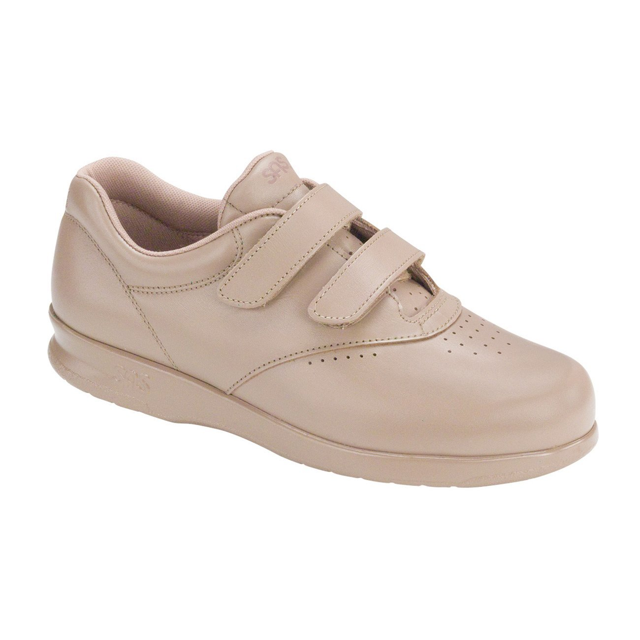 SAS Womens Me Too Leather Low Top Walking Shoes B018UA9L5Q 8.5 (W) Wide|Mocha