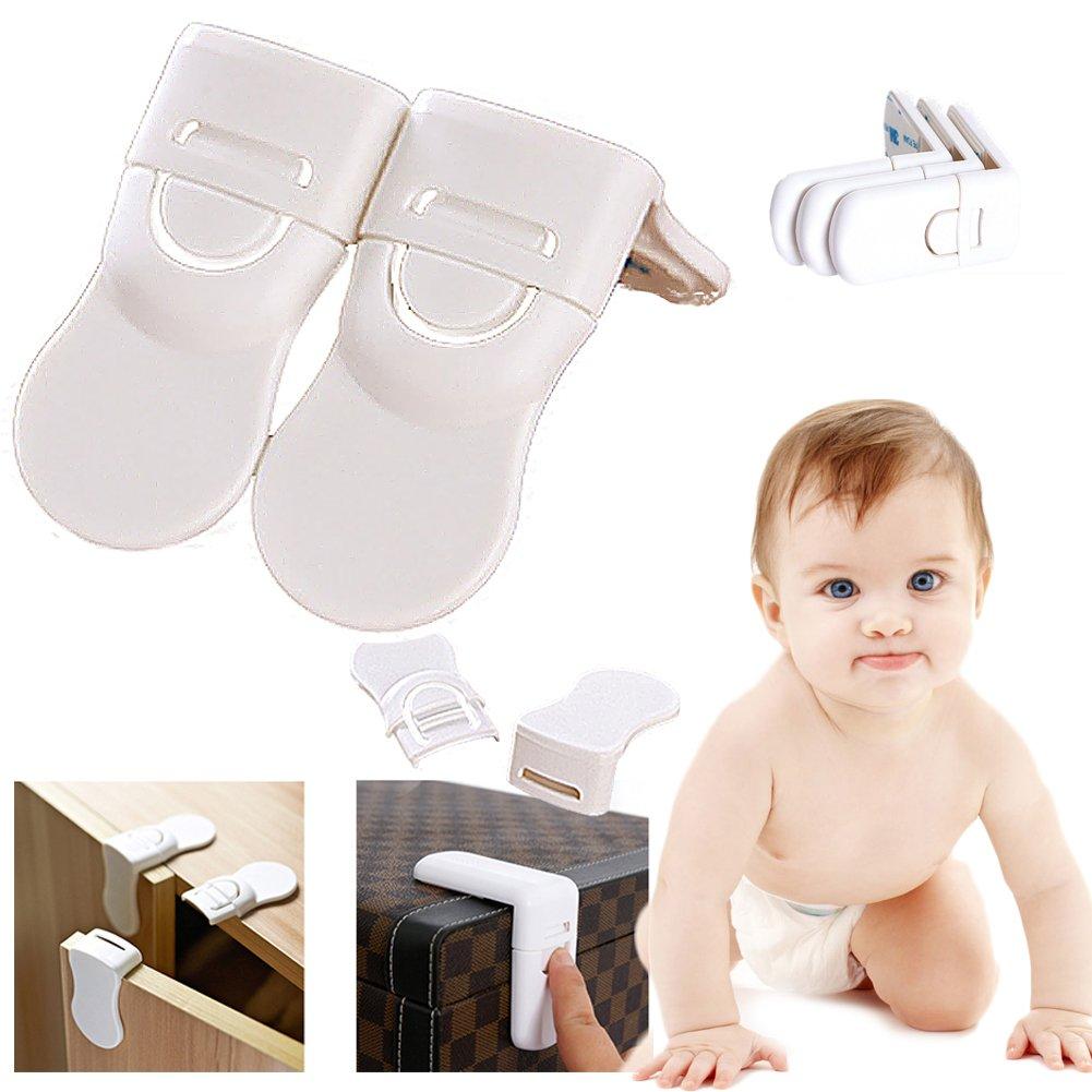 Seguridad del bebé Candados a prueba de niños Cierres Armario ...
