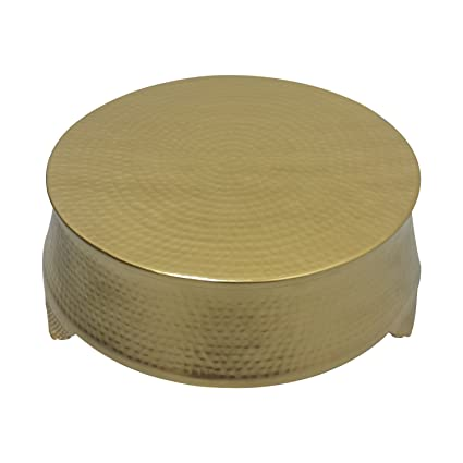 Amazon Com Giftbay Wedding Cake Stand Round 18 Hammered Design