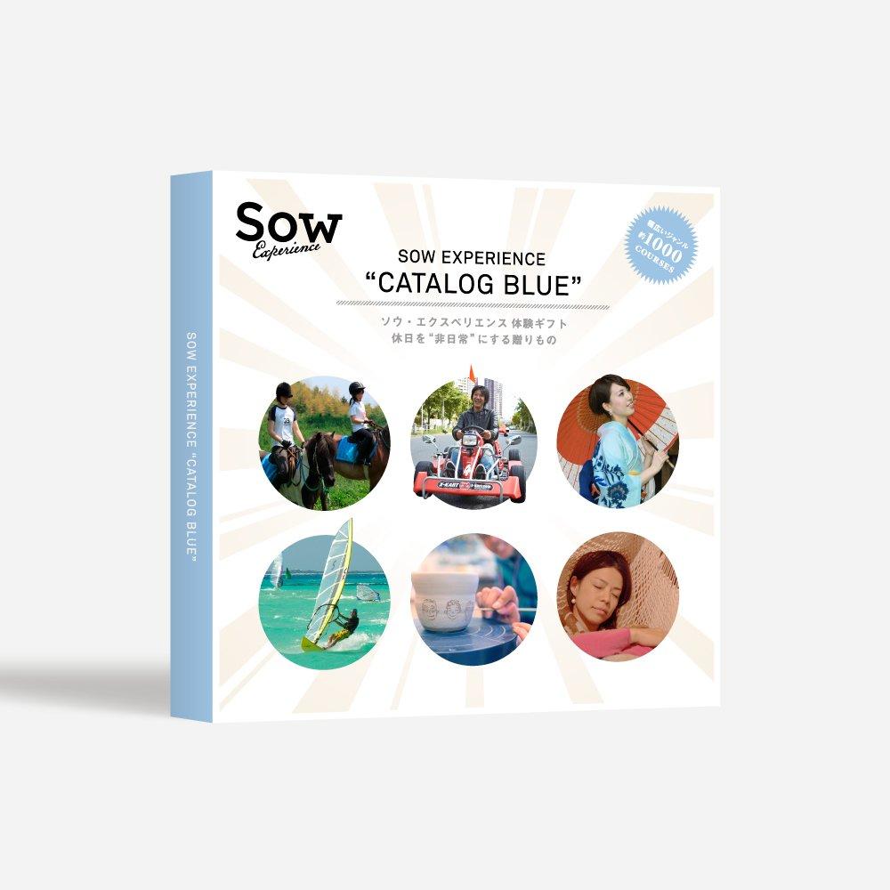 Sow Experience(ソウエクスペリエンス) 体験型カタログギフト 総合版カタログBLUE B003O6YCWY