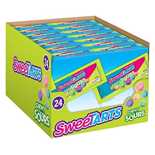 SweeTARTS Chewy Sours Candy (24 pk., 1.65 oz.) (Pack of 1)