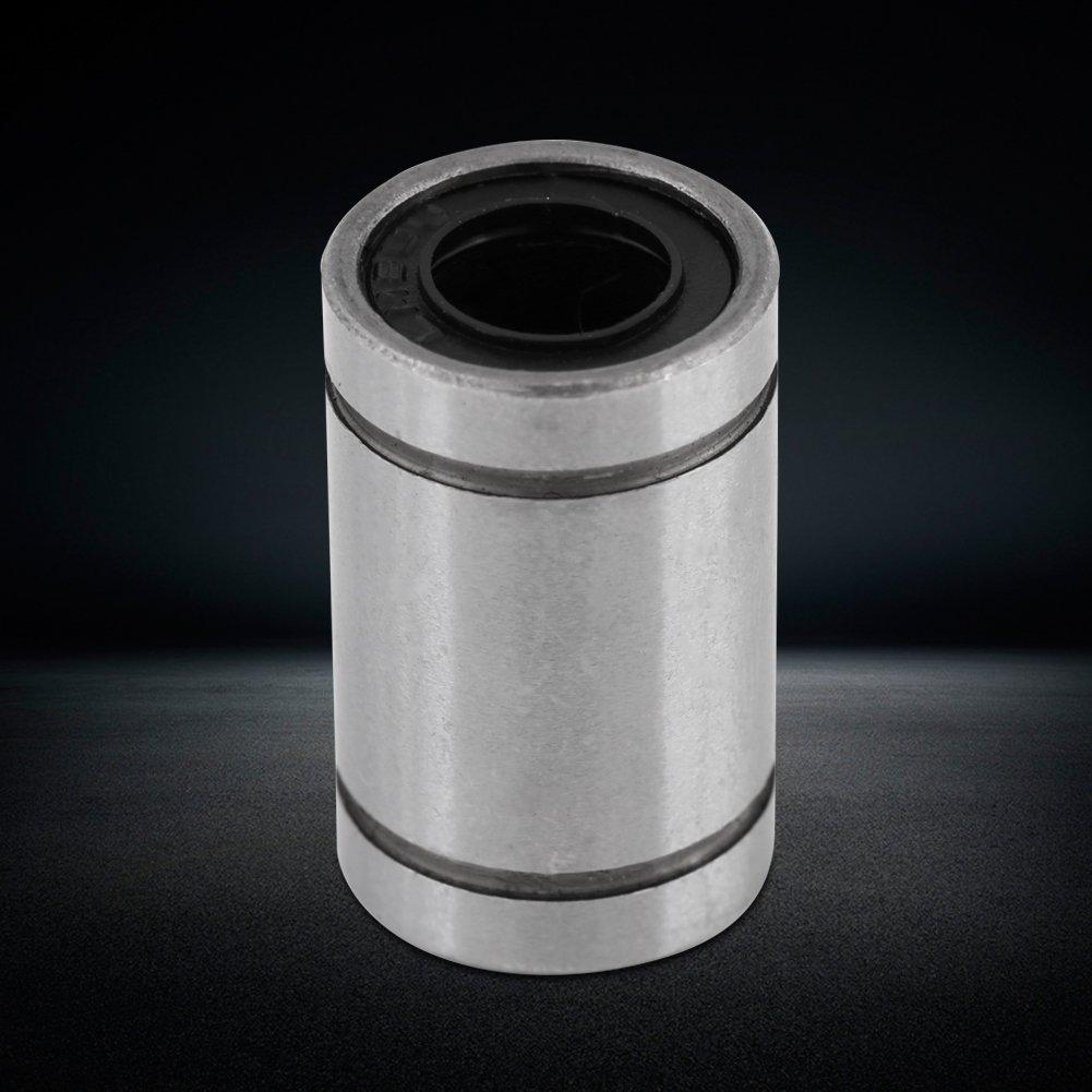 10/pcs LM8UU Cojinete de bolas con movimiento lineal para 3d partes de CNC con barra de 8/mm