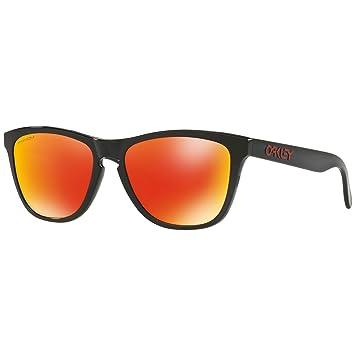 Oakley Frogskins Prizm Ruby Sonnenbrille Schwarz SFi2k9K5