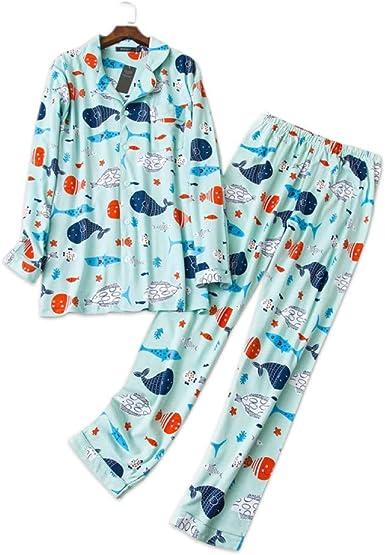AFUPO Conjuntos de Pijamas de pez de Dibujos Animados de ...