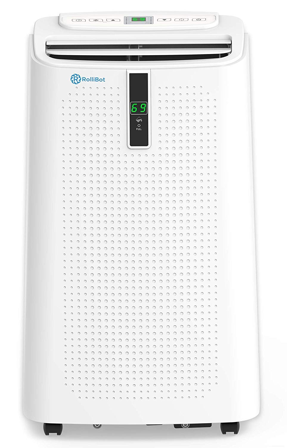 RolliCool Alexa-Enabled Portable Air Conditioner 12,000 BTU AC Unit with Heater, Dehumidifier, Fan, Mobile App (COOL310-19)