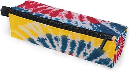 Estuche portátil para gafas, color rojo, amarillo y azul, caja suave para mujeres y niñas, con cremallera, para gafas de sol, estuche de almacenamiento para lápices y cosméticos: Amazon.es: Oficina y papelería