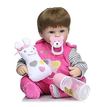 Reborn Baby Dolls Realista Bebita Vinilo De Silicona Muñeca ...