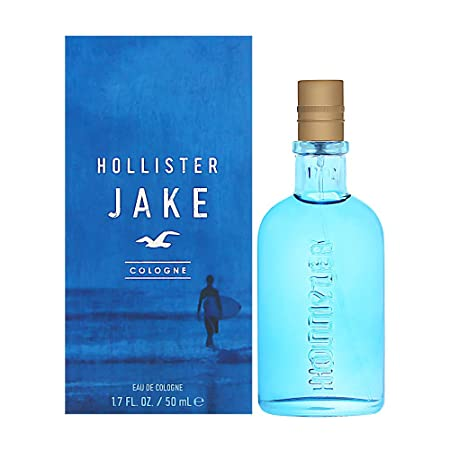 JAKE BLUE EDITION * Hollister 1.7 oz 50 ml EDC Men Cologne Spray