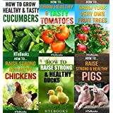 6 books in 1 - Agriculture, Agronomy, Animal Husbandry, Sustainable Agriculture, Tropical Agriculture, Farm Animals, Vegetables, Fruit Trees, Chickens, ... Tomatoes, Cucumbers (How To Do Agriculture)