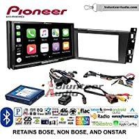 Volunteer Audio Pioneer AVH-W4400NEX Double Din Radio Install Kit with Wireless Apple CarPlay, Android Auto, Bluetooth Fits 2006-2010 Cadillac DTS