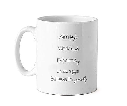 buy tied ribbons inspirational quotes printed ceramic coffee mug