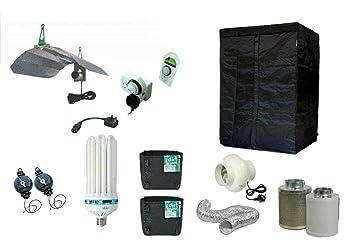 Swiftair Best Complete CFL Hydroponic Grow Room Tent Fan