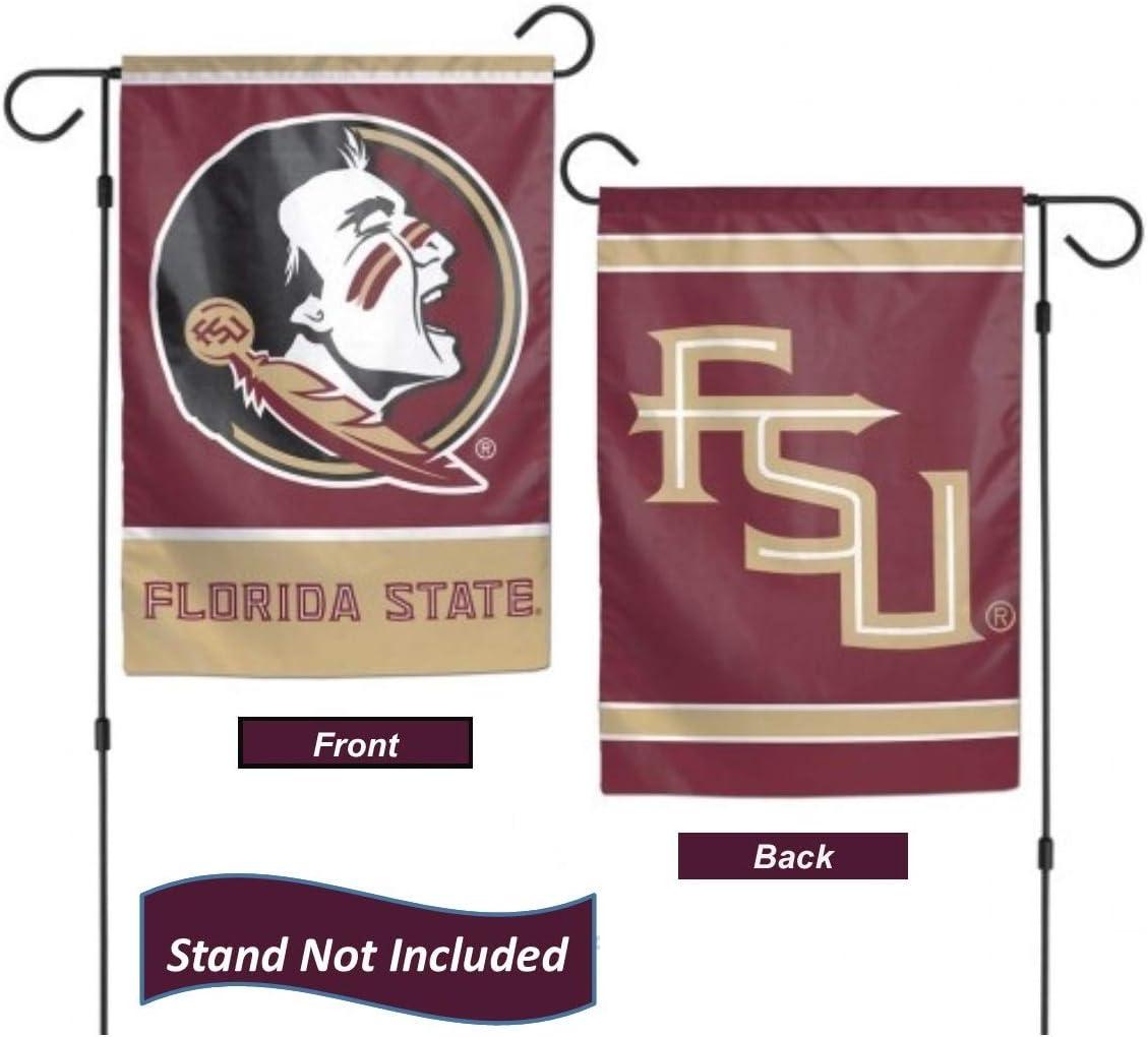 WinCraft NCAA Florida State University Seminoles 12.5 x 18 Inch 2-sided Garden Flag