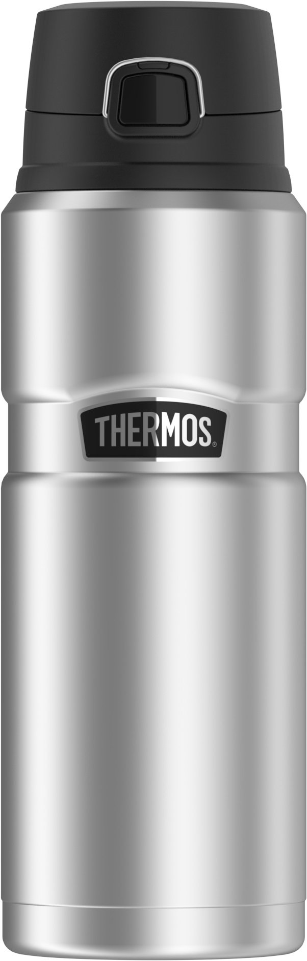 Thermos Stainless King 24 Ounce Drink Bottle, Stainless Steel by Thermos