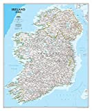 Ireland Classic Wall Map Type: Standard Laminated (30'' x 36'')