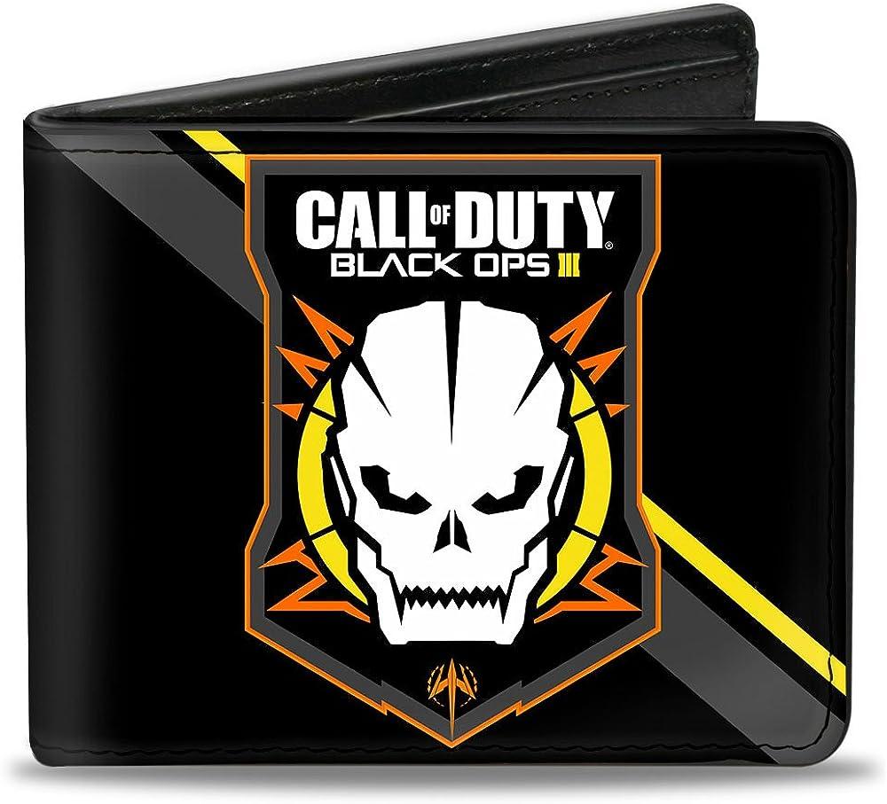 Amazon Com Buckle Down Men S Wallet Call Of Duty Black Ops Iii