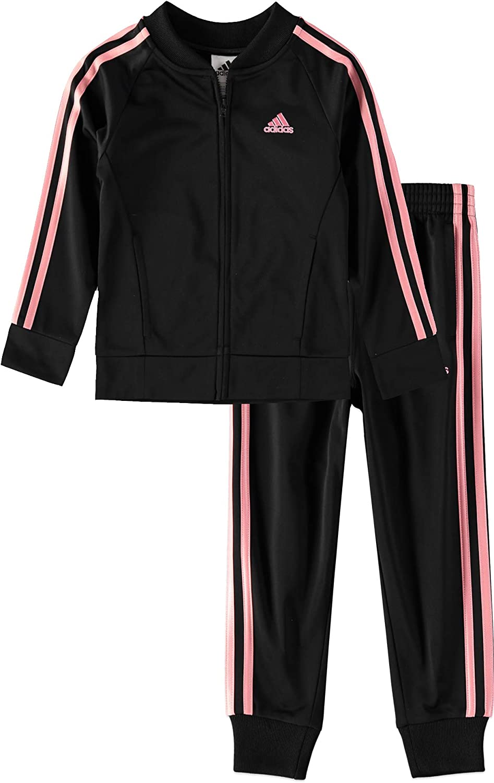 Adidas Boys Classic Tricot JKT /& Jogger Set Pants Set