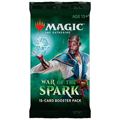Magic The Gathering MTG BD-EN War of The Spark Booster Pack, Multi: Toys & Games