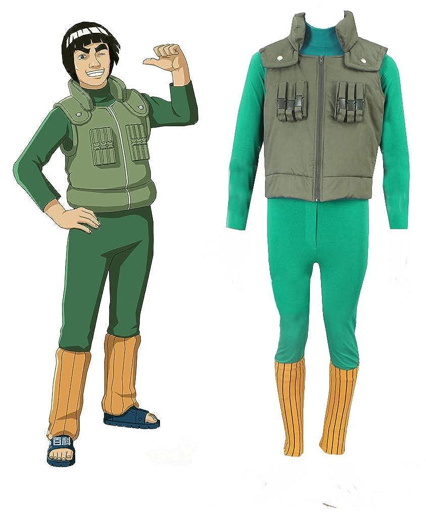 Amazon.com: Naruto Shippuden Might Guy Konoha Ninja Uniform ...