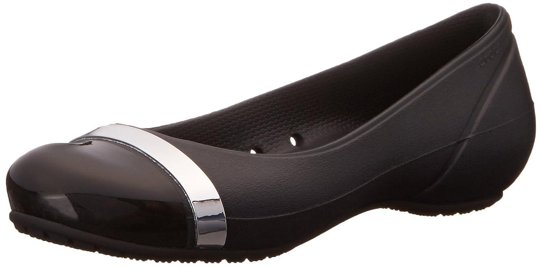 Toe Cap cocodrilos espejo plano 36.5 EU|Black/Black
