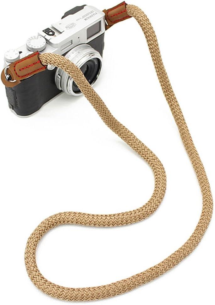 Matoger Camera Shoulder strap Vintage SLR DSLR Camera Neck Strap Belt for Nikon Sony Pentax Canon Olympus Fujifilm Casio Panasonic