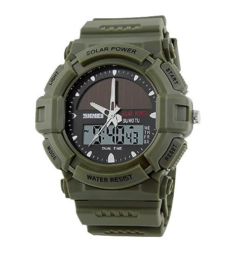 analógico deportivo ejército del reloj digital wrustwatch ...