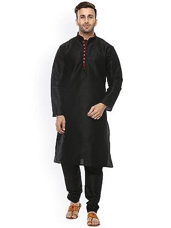 98fa085d3c Royal Kurta Mens Silk Blend Kurta Pyjama Set  Amazon.in  Clothing ...