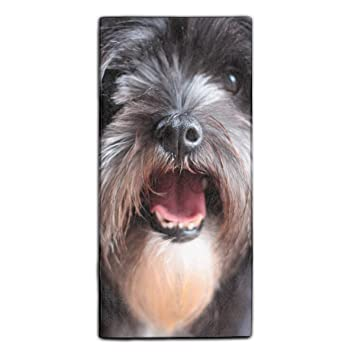 Amazoncom Long Hair Terrier Towels Fingertip Personalized Gift