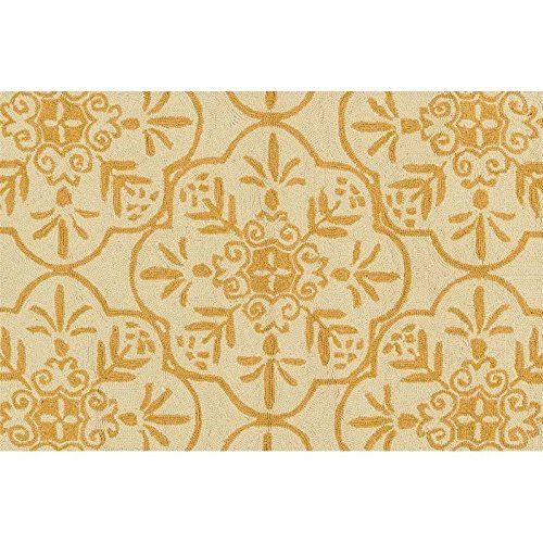 Loloi Rugs, Venice Beach Collection - Ivory / Buttercup Area Rug, 2'-3