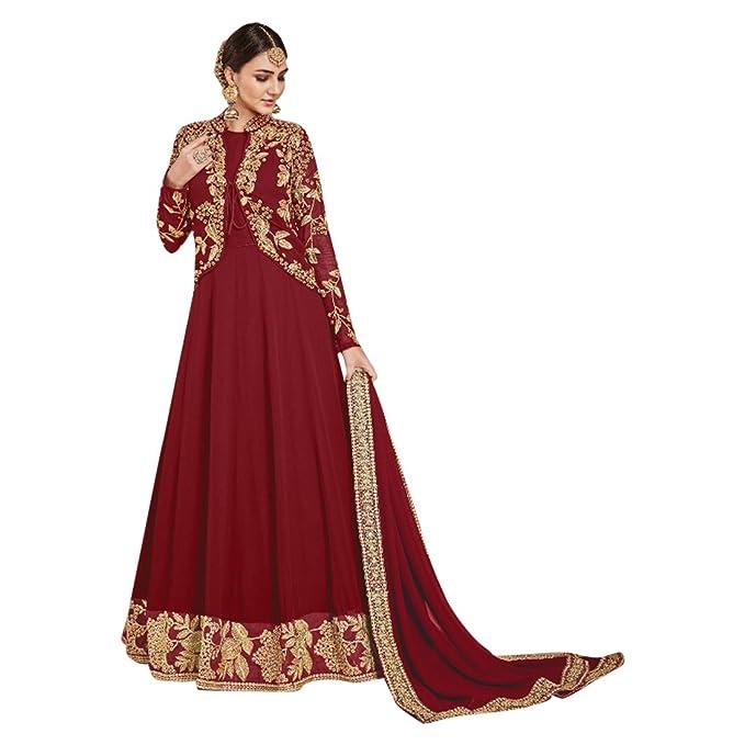 4527c8083 Vestido de fiesta indio diseñador paquistaní tradicional cultural étnico  anarkali salwar traje de bollywood personalizado vestido largo para medir  897  ...