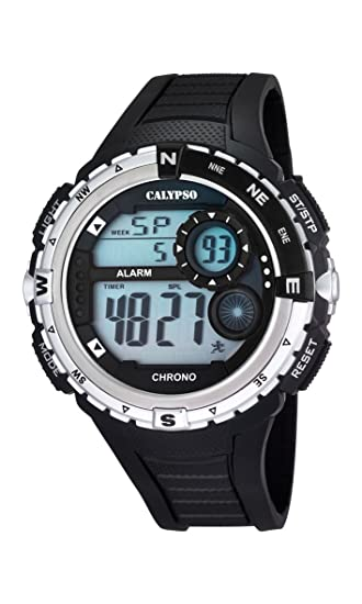 Calypso watches K5662/1 - Reloj de Pulsera Hombre, plástico, Color Negro: Amazon.es: Relojes
